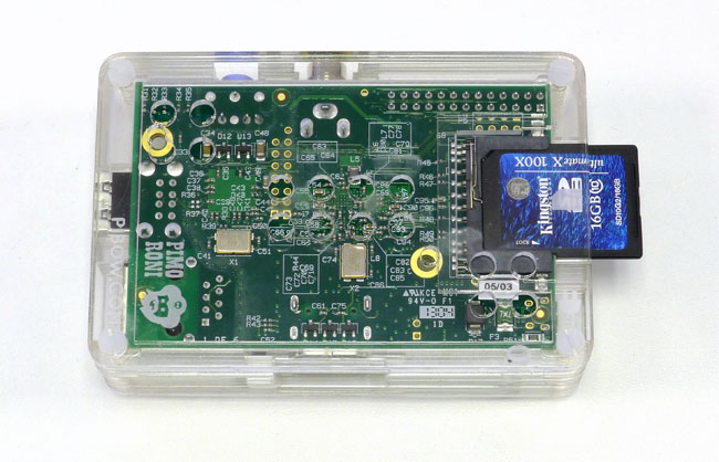 Pibow Raspberry Pi case