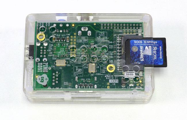 Pibow Raspberry Pi case