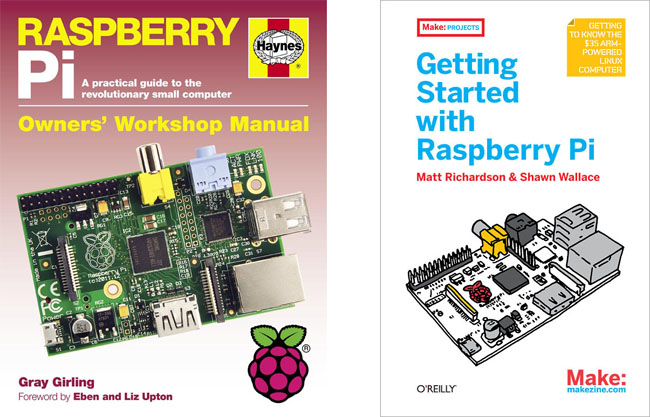 Haynes' manual is a fine reference, Getting Started... a good introduction to the Pi