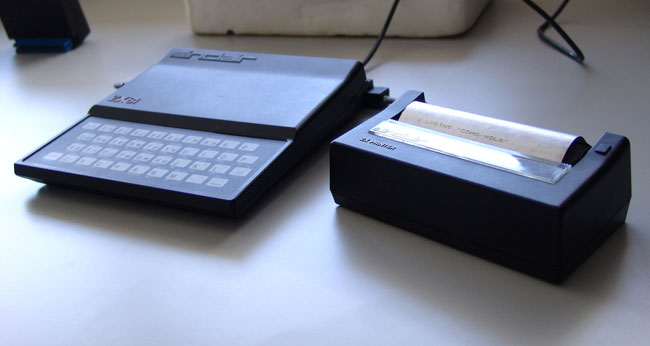 The Sinclair ZX Printer
