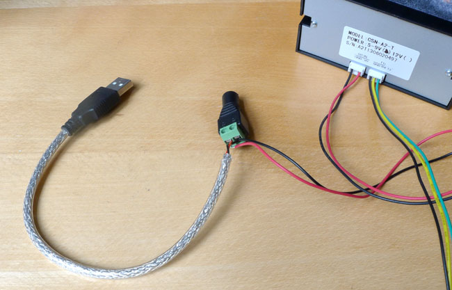 Pi printer power wiring