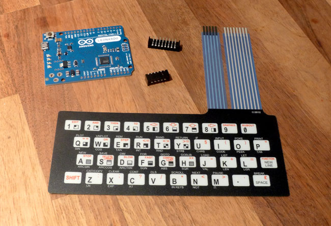 The ZX81 membrane keyboard
