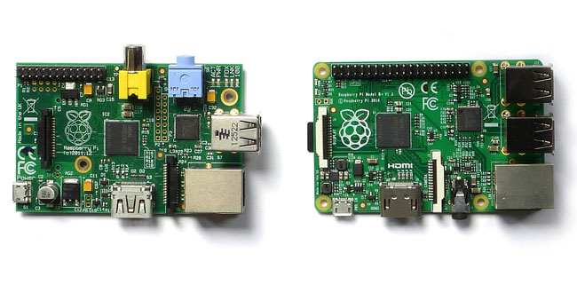 Raspberry Pi B and B+