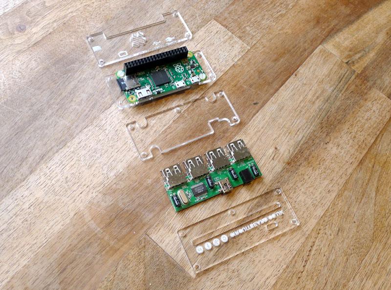 Circuitbeard Pi Zero Hub Case