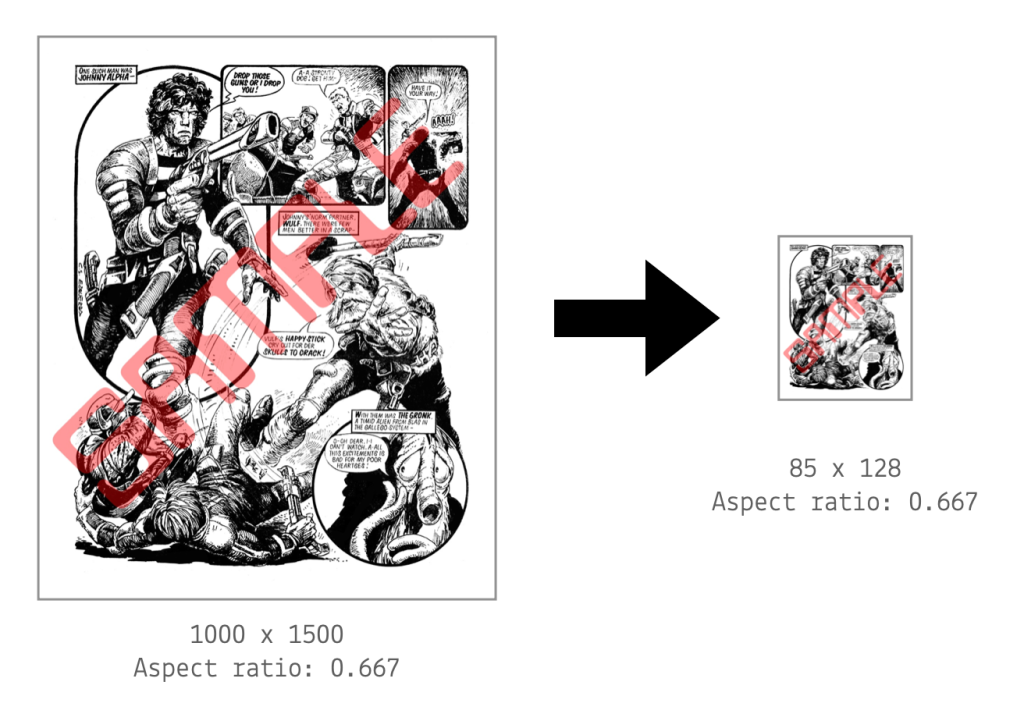 imageprep can scale, crop or pad an image while retaining its aspect ratio
