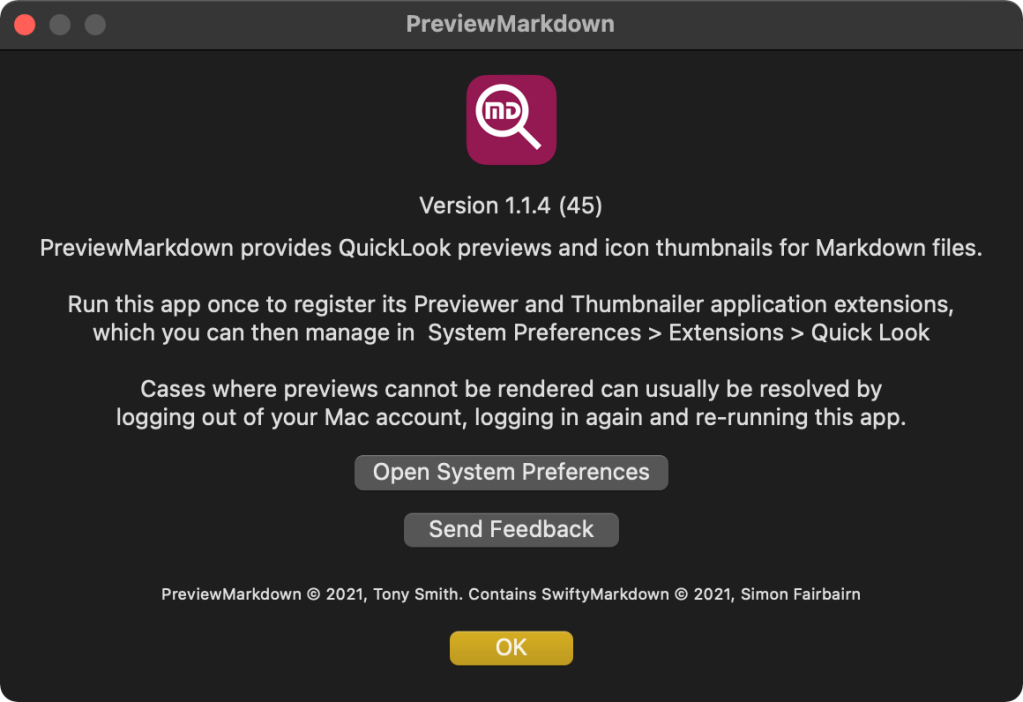 PreviewMarkdown, the markdown file viewer
